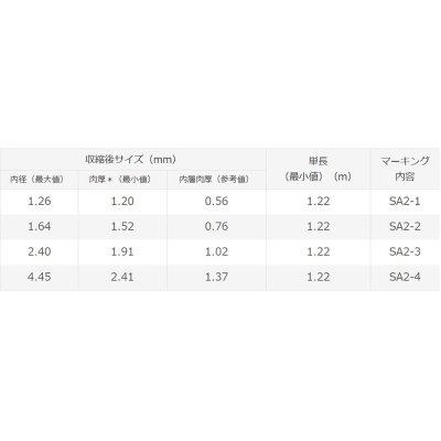 画像4: 住友電工 スミチューブ SA2 7.5/1.6 1.22m (SA2-2 接着剤入り防水チューブ)