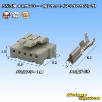 JAM 日本オートマチックマシン SN 5極 メスカプラー・端子セット (プラグハウジング)