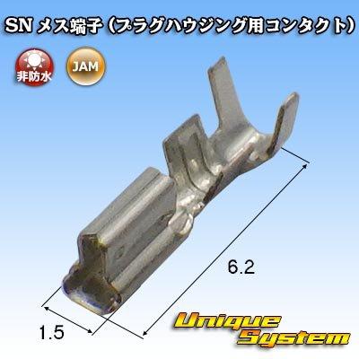 画像1: JAM 日本オートマチックマシン SN メス端子 (プラグハウジング用コンタクト)