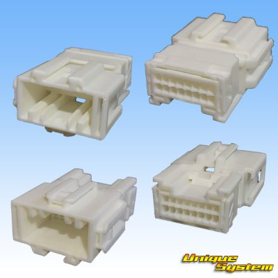 画像2: 住友電装 025型 HE 16極 カプラー・端子セット
