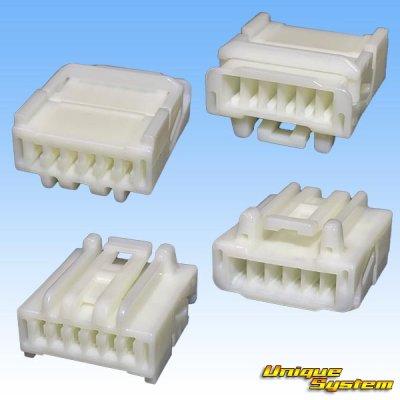 画像2: 住友電装 040型 HE 非防水 6極 メスカプラー・端子セット