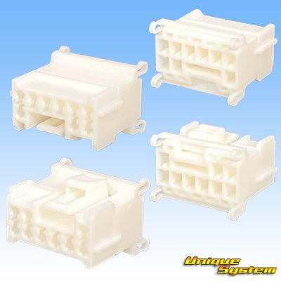 画像2: 住友電装 090型 DS 非防水 9極 メスカプラー・端子セット 機器直付タイプ