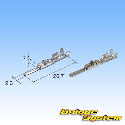 画像3: 住友電装 090型 HD 4極 オスカプラー・端子セット