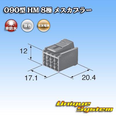 画像3: 住友電装 090型 HM 8極 メスカプラー