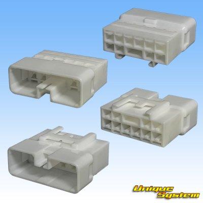 画像2: 住友電装 187型 TS 10極 オスカプラー・端子セット