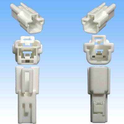 画像3: 住友電装 187型 TS 1極 オスカプラー