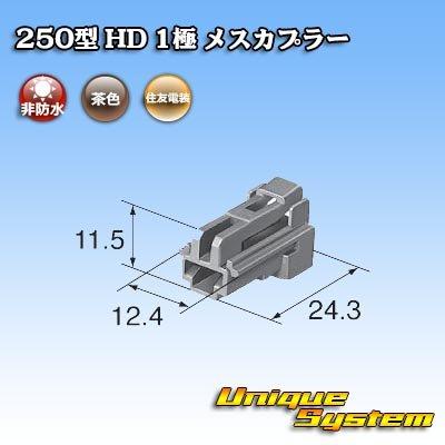 画像3: 住友電装 250型 HD 1極 メスカプラー