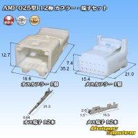 タイコエレクトロニクス AMP 025型I 12極 カプラー・端子セット