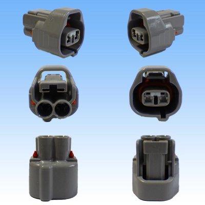 画像2: 住友電装 090型 TS 防水 2極 メスカプラー・端子セット タイプ3