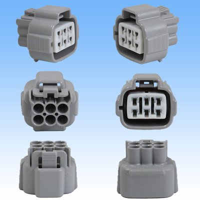 画像3: 住友電装 090型 TS 防水 6極 カプラー・端子セット タイプ1