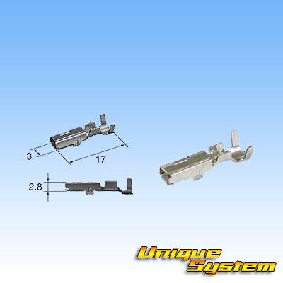 画像3: 住友電装 090型 TS 防水 3極 メスカプラー・端子セット タイプ3