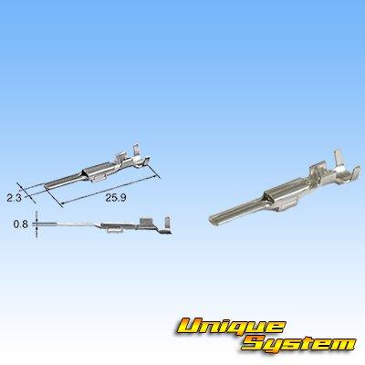 画像3: 住友電装 090型 TS 防水 2極 オスカプラー・端子セット タイプ5