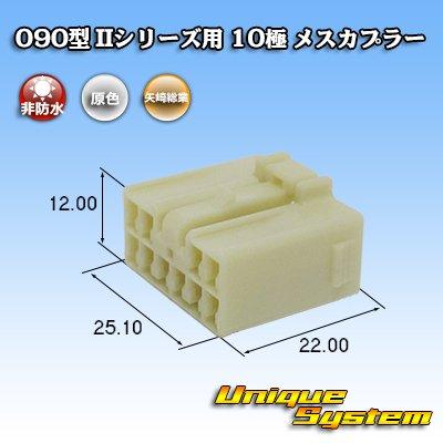 画像1: 矢崎総業 090型II 10極 メスカプラー