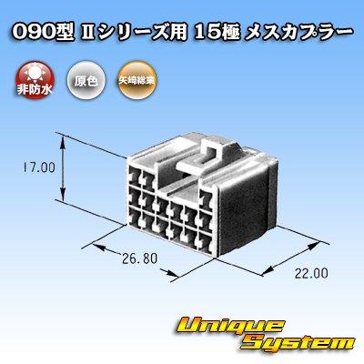 画像3: 矢崎総業 090型II 15極 メスカプラー