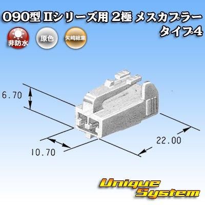 画像3: 矢崎総業 090型II 2極 メスカプラー タイプ4