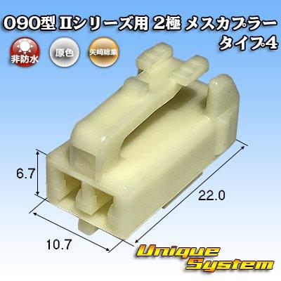 画像1: 矢崎総業 090型II 2極 メスカプラー タイプ4