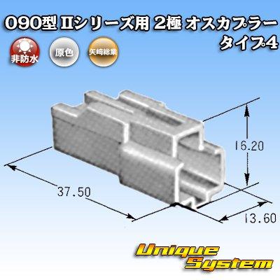 画像3: 矢崎総業 090型II 2極 オスカプラー タイプ4