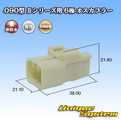 画像1: 矢崎総業 090型II 6極 オスカプラー タイプ1