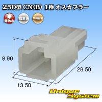 矢崎総業 250型 CN(B) 非防水 1極 オスカプラー